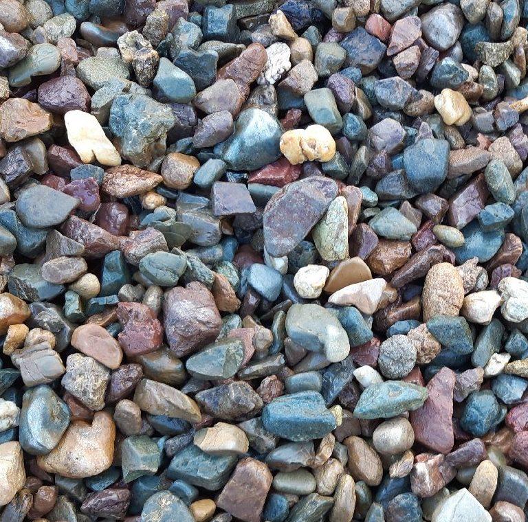 Ice Blue Garden /& Decorative Landscaping Aggregate Pebbles 20-50mm